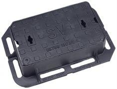 380 x 230 x 100mm Grade A Surface Box - Badged SV