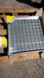 DS-Line 200 x 200 x 48mm Double Sealed Aluminium Recessed Manhole Cover - Clearance