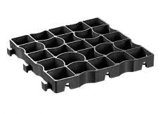 EcoGrid EcoRaster E30 Black - 1 Tile