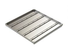 ECRM600 600 x 600 x 32mm Double Sealed & Locking Stainless Steel 316 Recessed Manhole Cover