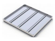 300 x 300 x 32mm Double Sealed & Locking Stainless Steel 316 Recessed Manhole Cover