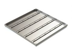 600 x 450 x 32mm Double Sealed & Locking Stainless Steel 316 Recessed Manhole Cover