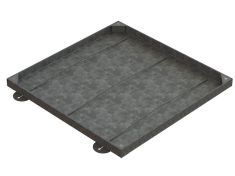 750 x 750 x 43mm Sealed & Locking Recessed Manhole Cover - T31G3 Alternative
