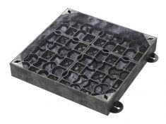 300 x 300 x 100mm EcoGrid Grass & Gravel Recessed Manhole Cover