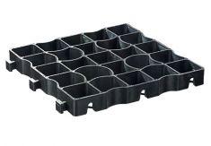 EcoGrid EcoRaster E40 Black - 1 Tile