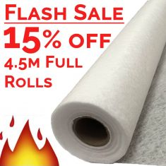 Multitrack NW8 White Non-Woven Geotextile Fleece Membrane 100gsm - ALL SIZES, FREE DELIVERY