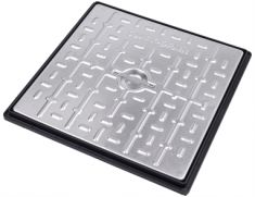 450 x 450 x 30mm Pedestrian Solid Top Manhole Cover - POA