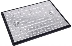 600 x 450 x 30mm Pedestrian Solid Top Manhole Cover