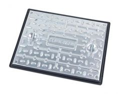 600 x 450 x 30mm Sealed & Locking 5 Tonne GPW Solid Top Manhole Cover