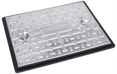 600 x 450 x 30mm Sealed & Locking 10 Tonne GPW Solid Top Manhole Cover