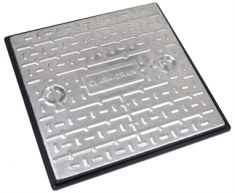 600 x 600 x 30mm 10 Tonne GPW Solid Top Manhole Cover