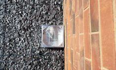 150 x 150 x 41mm Aluminium Recessed Sealed & Locking Surface Box Cover