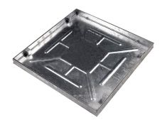 New! Fully Galvanised 600 x 600 x 43.5mm Sealed & Locking Recessed Manhole Cover POA