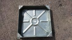 600 x 600 x 100mm Recessed Manhole Cover - Clearance