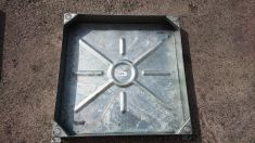 750 x 750 x 100mm Recessed Manhole Cover - Clearance