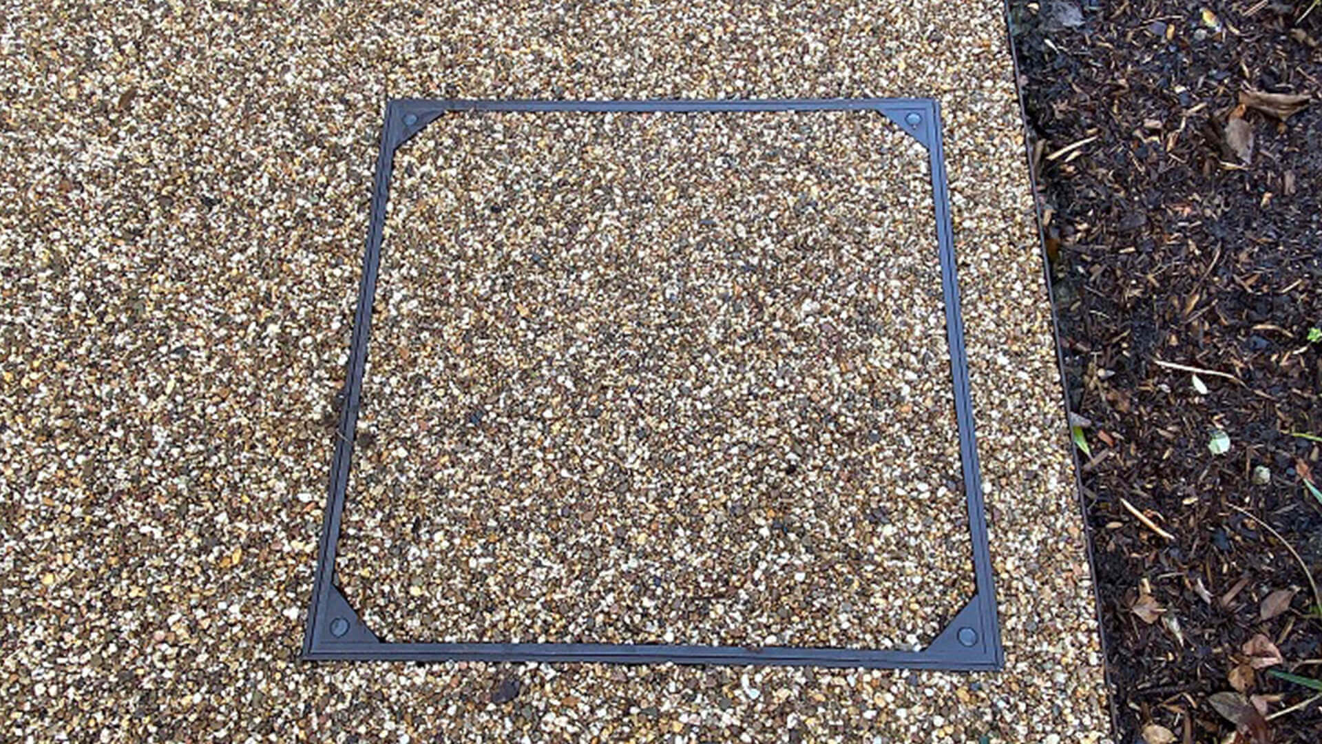 Resin Bound Stone Recessed Trays